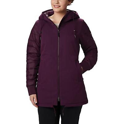 Columbia Boundary Bay Hybrid Jacket - Black Cherry Heather - Women