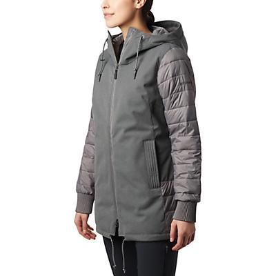 Columbia Boundary Bay Hybrid Jacket - City Grey Heather - Women