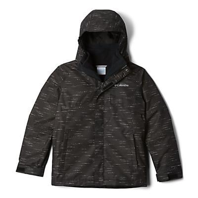 Columbia Youth Boys Bugaboo II Fleece Interchange Jacket - Black Tweed