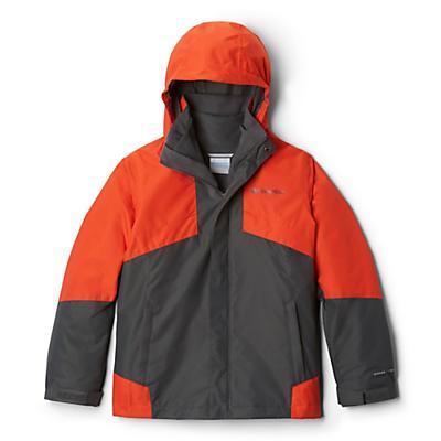 Columbia Youth Boys Bugaboo II Fleece Interchange Jacket - Grill/State Orange