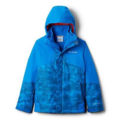 Columbia Youth Boys Bugaboo II Fleece Interchange Jacket - Super Blue Cloudy/Super Blue