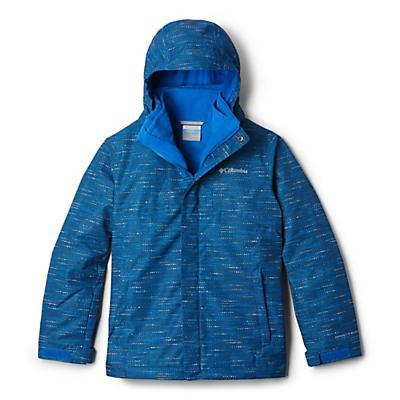 Columbia Youth Boys Bugaboo II Fleece Interchange Jacket - Super Blue Tweed