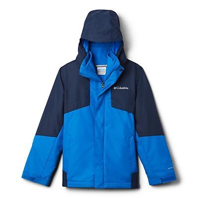 Columbia Youth Boys Bugaboo II Fleece Interchange Jacket - Super Blue/Collegiate Navy