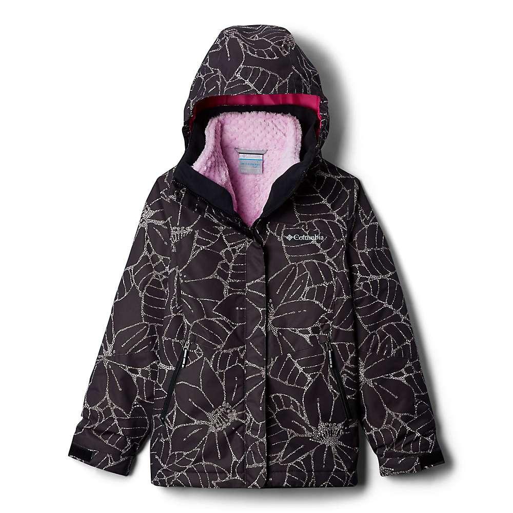 Columbia Youth Girls Bugaboo II Fleece Interchange Jacket - XS - Black Floral
