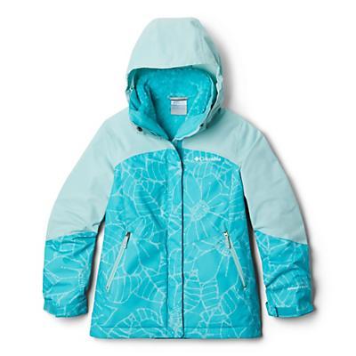 Columbia Youth Girls Bugaboo II Fleece Interchange Jacket - Geyser Floral/Spray
