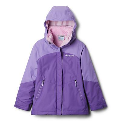 Columbia Youth Girls Bugaboo II Fleece Interchange Jacket - Grape Gum/Paisley Purple