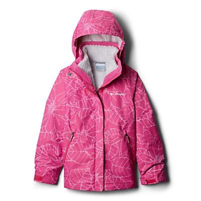 Columbia Youth Girls Bugaboo II Fleece Interchange Jacket - Pink Ice Floral
