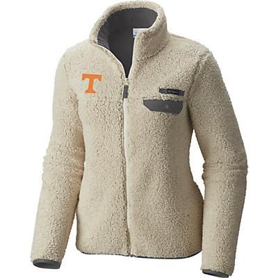 Columbia Collegiate Mountain Side Heavyweight Fleece Jacket - Ut - Chalk / Charcoal - Women