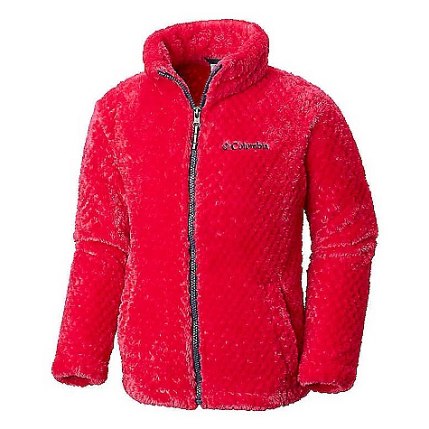 Columbia Youth Girls Fluffy Fleece Full Zip Jacket