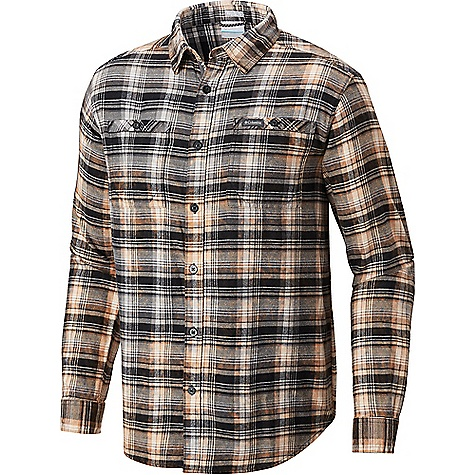 Columbia Men's Flare Gun Washed LS Flannel Shirt Black Multi Plaid Columbia Men's Flare Gun Washed LS Flannel Shirt - Black Multi Plaid - in stock now. FEATURES of the Columbia Men's Flare Gun Washed Long Sleeve Flannel Shirt Button closure chest pocket