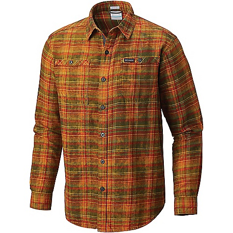 Columbia Men's Flare Gun Washed LS Flannel Shirt Mosstone Multi Plaid Columbia Men's Flare Gun Washed LS Flannel Shirt - Mosstone Multi Plaid - in stock now. FEATURES of the Columbia Men's Flare Gun Washed Long Sleeve Flannel Shirt Button closure chest pocket