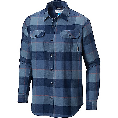 Columbia Men's Flare Gun Flannel III LS Shirt Dark Mountain Large Plaid Columbia Men's Flare Gun Flannel III LS Shirt - Dark Mountain Large Plaid - in stock now. FEATURES of the Columbia Men's Flare Gun Flannel III Long Sleeve Shirt Omni-WICK Multi-functional pockets