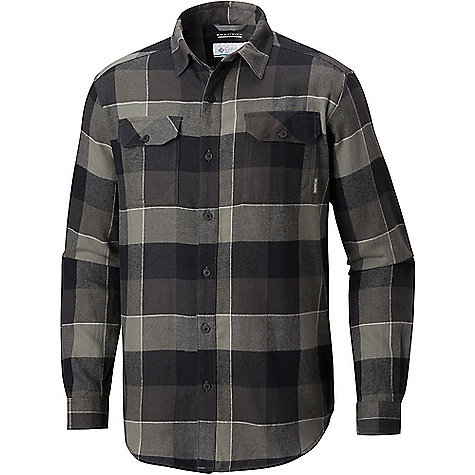 Columbia Men's Flare Gun Flannel III LS Shirt Shark Large Plaid Columbia Men's Flare Gun Flannel III LS Shirt - Shark Large Plaid - in stock now. FEATURES of the Columbia Men's Flare Gun Flannel III Long Sleeve Shirt Omni-WICK Multi-functional pockets