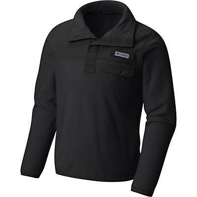 Columbia Youth Harborside Overlay Fleece Top - Black