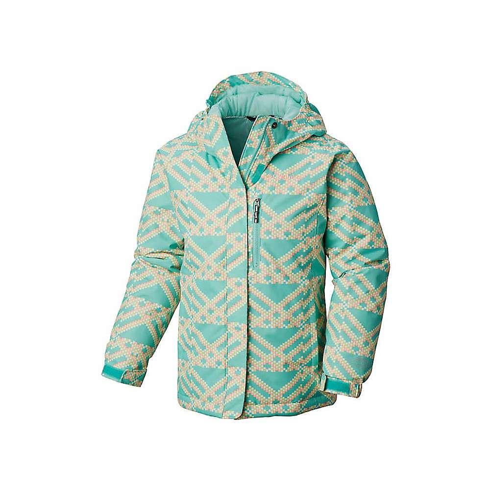 Columbia Youth Girls Magic Mile Jacket - Large - Pixie Microgeo Print