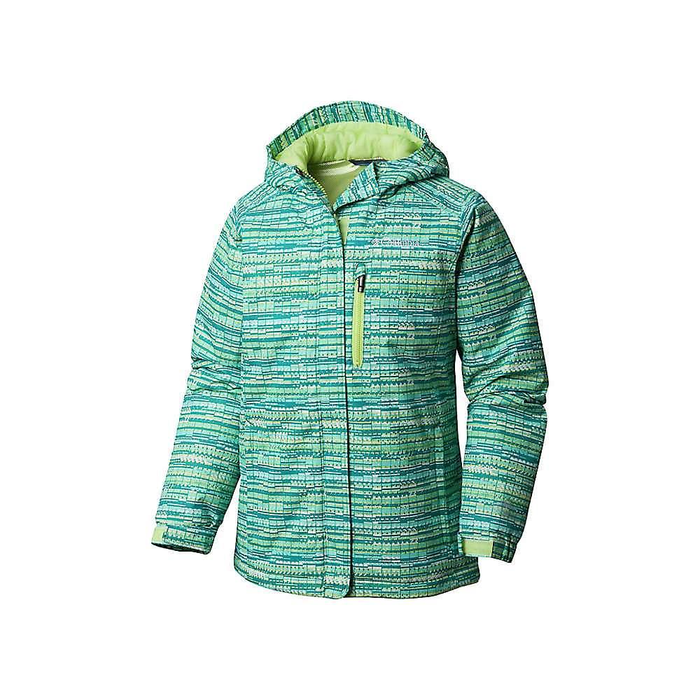 Columbia Youth Girls Magic Mile Jacket - XL - Tippet Digi Lines Print