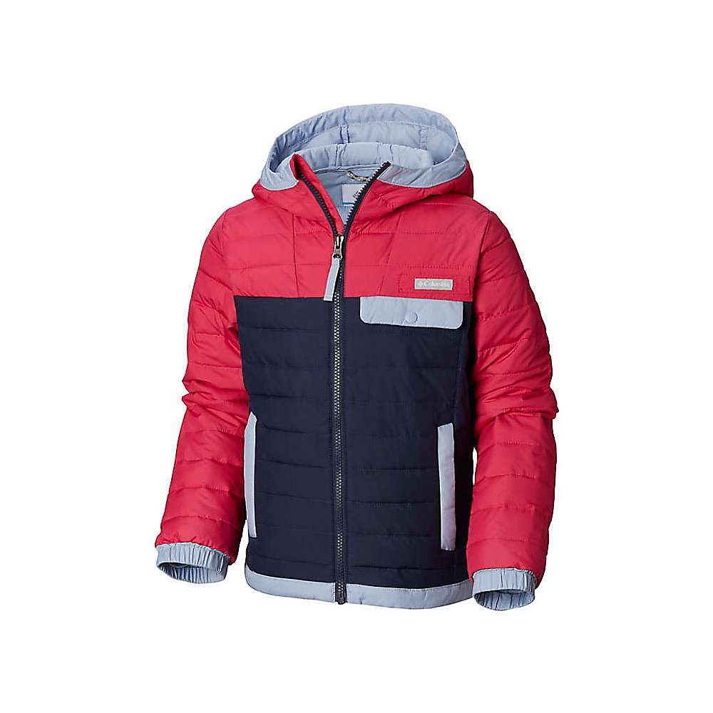 Columbia Youth Mountainside Full Zip Jacket - Small - Cactus Pink / Nocturnal