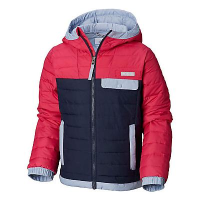 Columbia Youth Mountainside Full Zip Jacket - Cactus Pink / Nocturnal