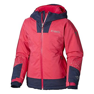 Columbia Youth Girls Rad To The Bone Jacket - Cactus Pink / Nocturnal