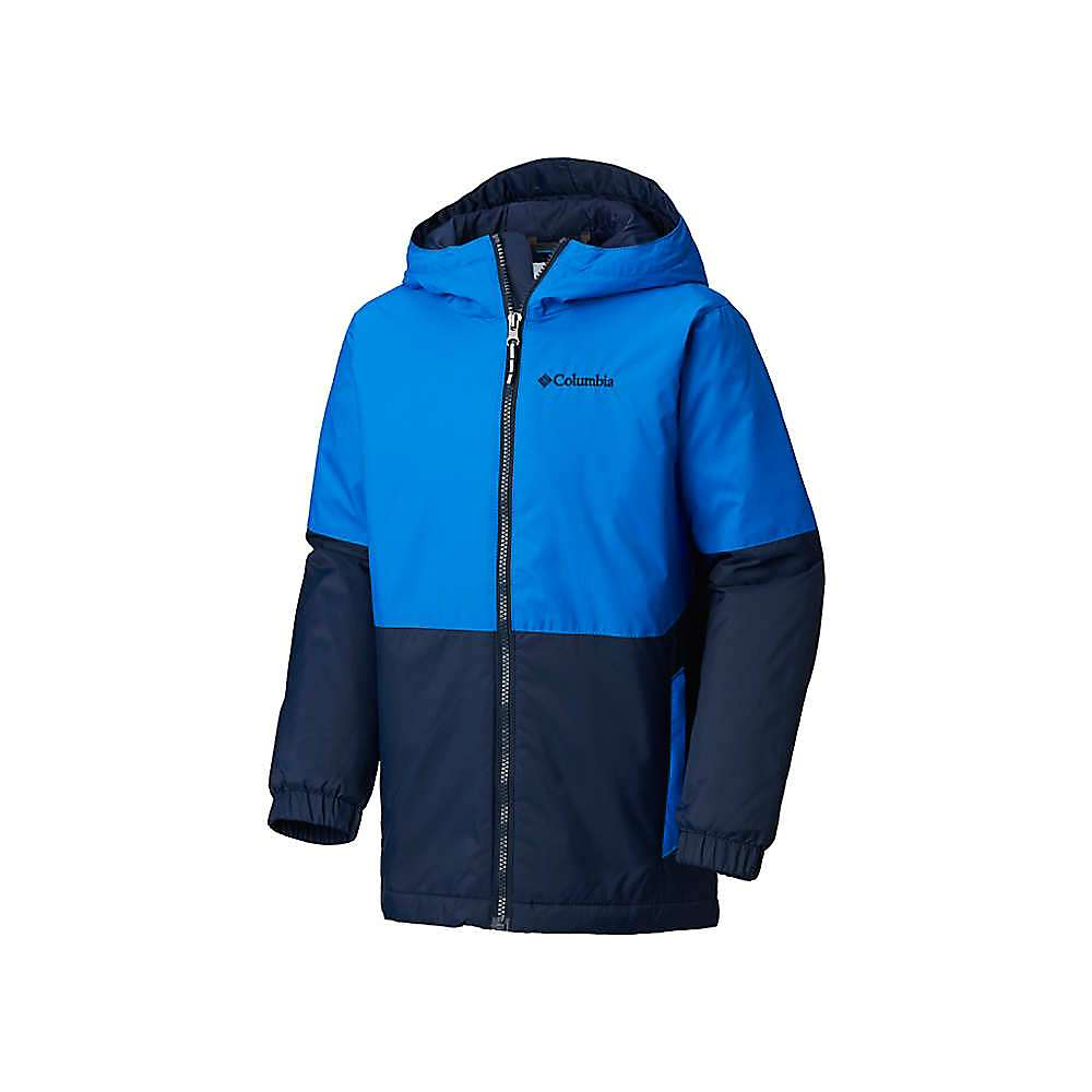 Columbia Youth Boys Sky CanyonJacket - XXS - Collegiate Navy / Super Blue