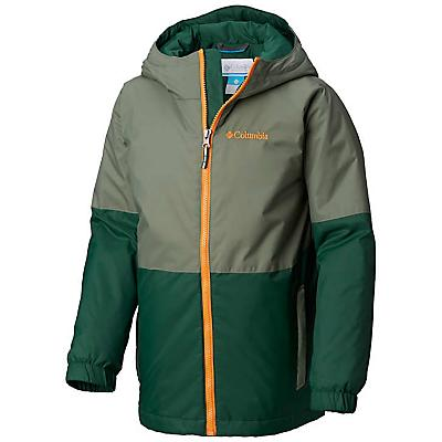 Columbia Youth Boys Sky CanyonJacket - Medium - Forest / Cypress