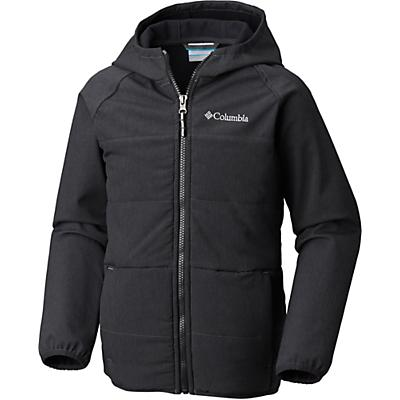 Columbia Youth Boys Take A Hike Softshell Jacket - Black