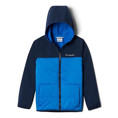 Columbia Youth Boys Take A Hike Softshell Jacket - Super Blue/Collegiate Navy
