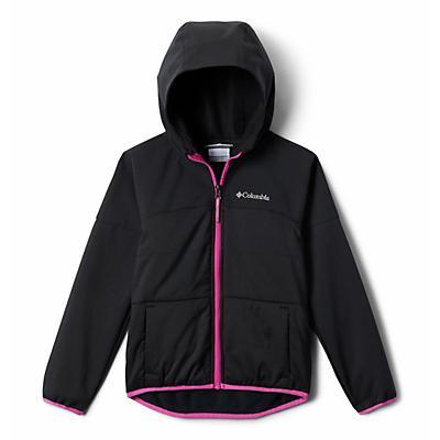 Columbia Youth Girls Take A Hike Softshell Jacket - Black