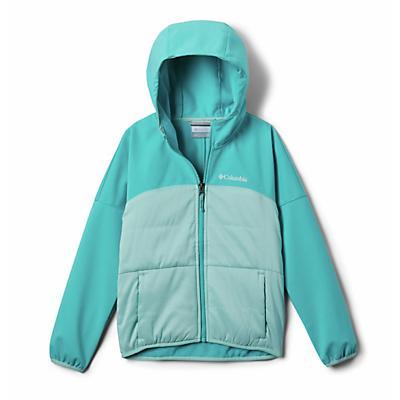 Columbia Youth Girls Take A Hike Softshell Jacket - Spray/Geyser
