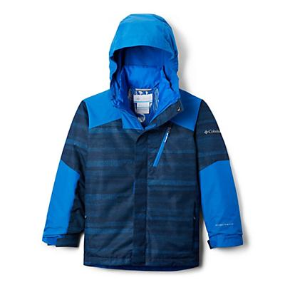 Columbia Youth Boys Whirlibird II Interchange Jacket - Super Blue Strokes/Super Blue