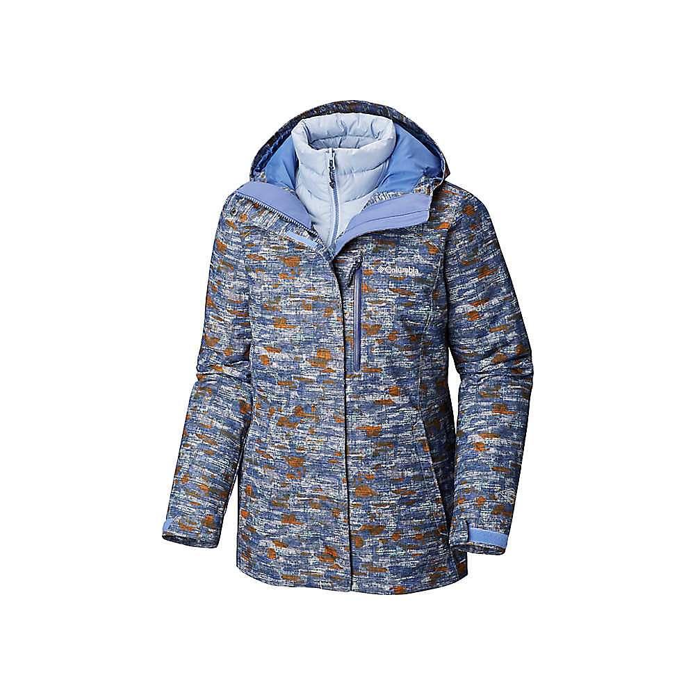Columbia Women's Whirlibird III Interchange Jacket – XS – Faded Sky Camo Print