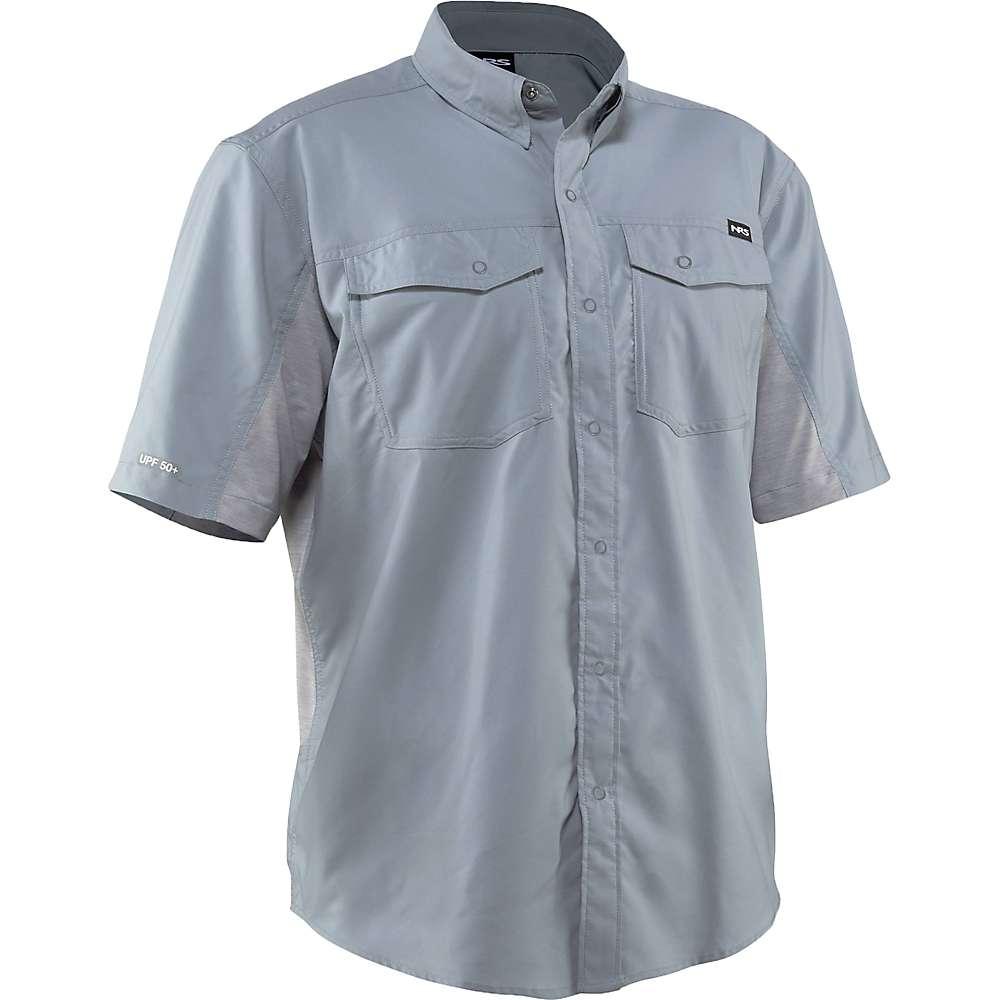 Compare NRS Mens Guide SS Shirt - XL - Quarry S20
