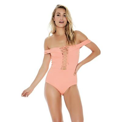 L Space Anja One Piece Swimsuit - Tropical Peach - Women