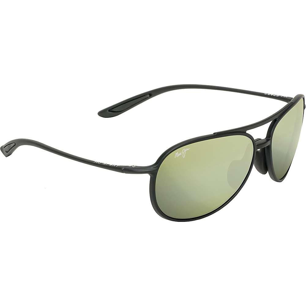Maui Jim Alelele Bridge Polarized Sunglasses - One Size - Matte Black / Maui HT Polarized