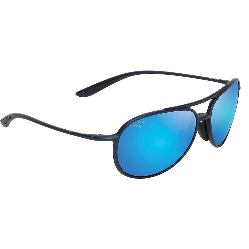 Maui Jim Alelele Bridge Polarized Sunglasses - One Size - Matte Blue / Blue Hawaii Polarized