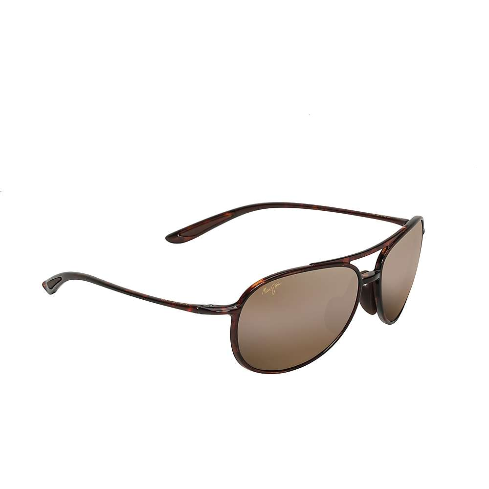 Maui Jim Alelele Bridge Polarized Sunglasses - One Size - Tortoise / HCL Bronze Polarized
