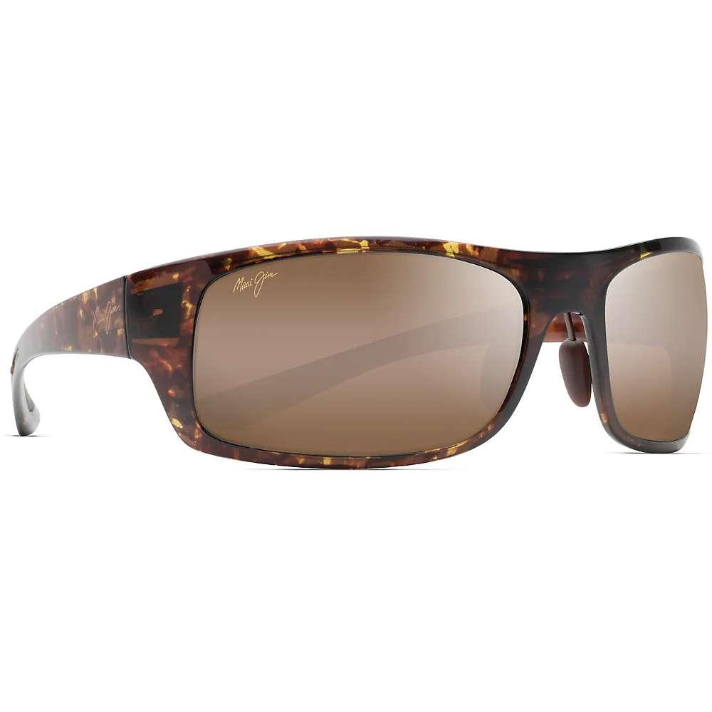 Maui Jim Big Wave Polarized Sunglasses - One Size - Olive Tortoise / HCL Bronze Polarized