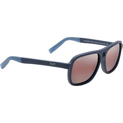 Maui Jim Little Maks Polarized Sunglasses - Matte Blue / Maui Rose Polarized