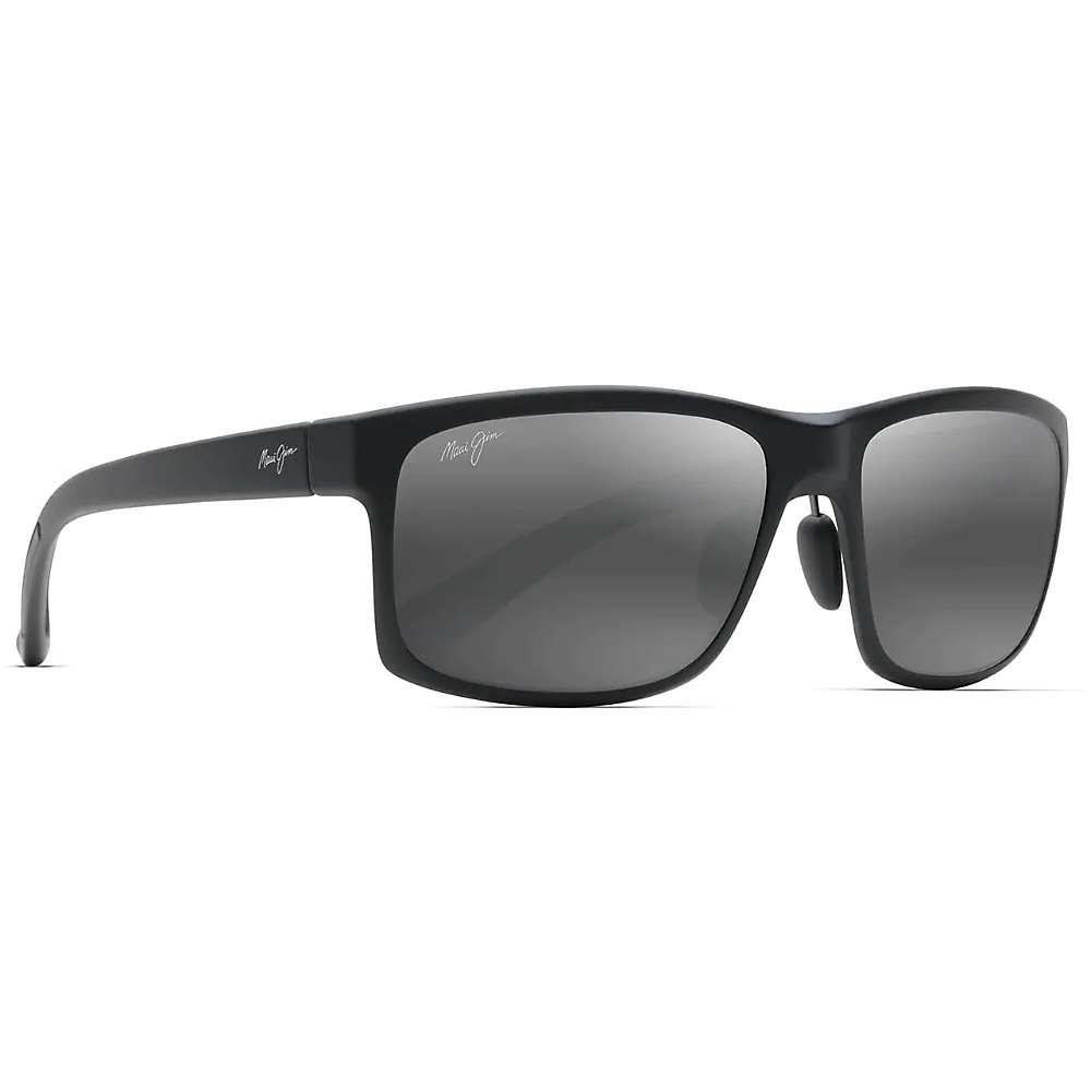 Maui Jim Pokowai Arch Polarized Sunglasses - One Size - Matte Black / Neutral Grey Polarized