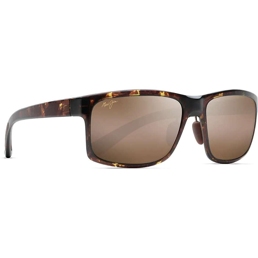 Maui Jim Pokowai Arch Polarized Sunglasses - One Size - Olive Tortoise / HCL Bronze Polarized