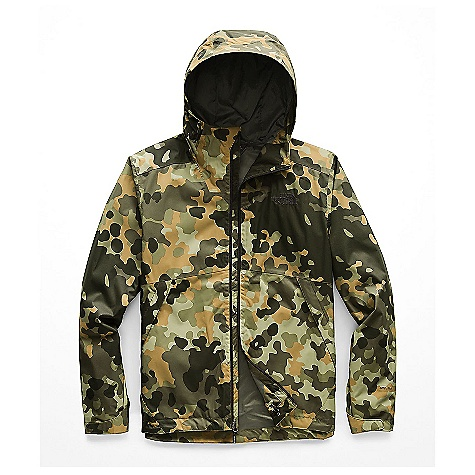 The North Face Men's Millerton Jacket New Taupe Green Macrofleck Camo Print