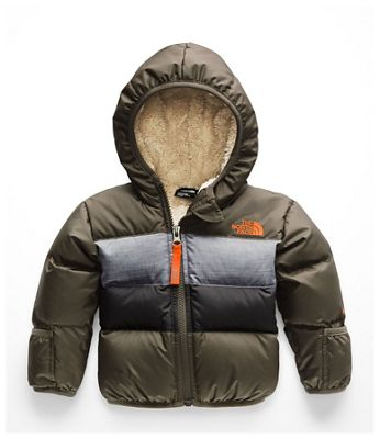 The North Face Infant Moondoggy 2.0 Down Jacket - 12M - New Taupe Green