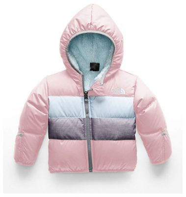 The North Face Infant Moondoggy 2.0 Down Jacket - 3M - Purdy Pink