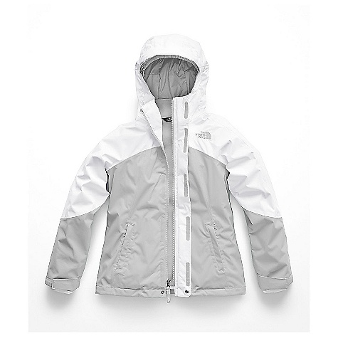 The North Face Kid's Mt View Triclimate Jacket Tnf White / High Rise Grey