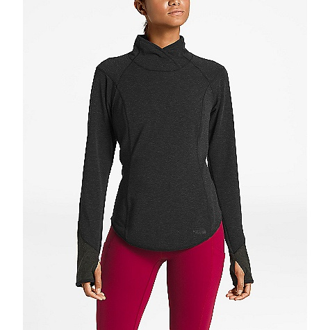 The North Face Women's Nordic Thermal LS Top TNF Black Heather