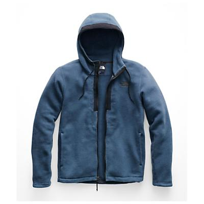 The North Face Pyrite Fleece Hoodie - Shady Blue Heather - Men