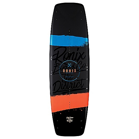 Ronix District 134cm Wakeboard with Cocktail Boots Package
