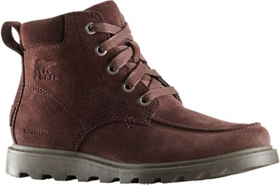 Sorel Youth Madson Moc Toe Waterproof Boot - Cattail / Mud
