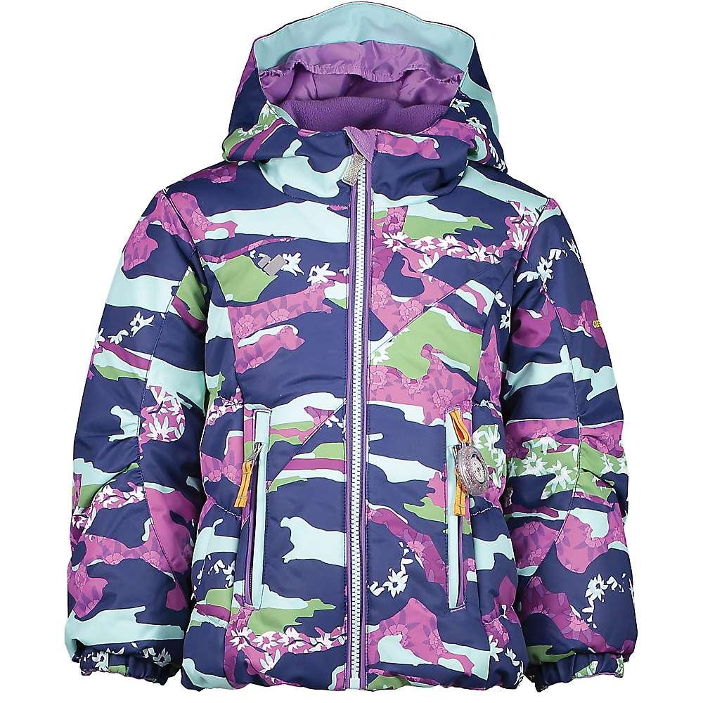Obermeyer Kid's Cakewalk Jacket – 3 – Camo-Girl Purples Print