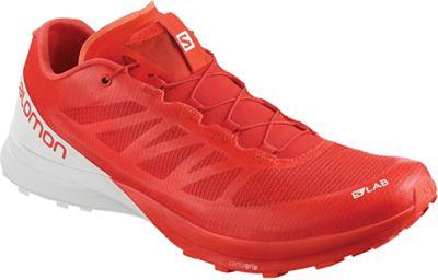 Salomon S/Lab Sense 7 Shoe - Racing Red / White / White